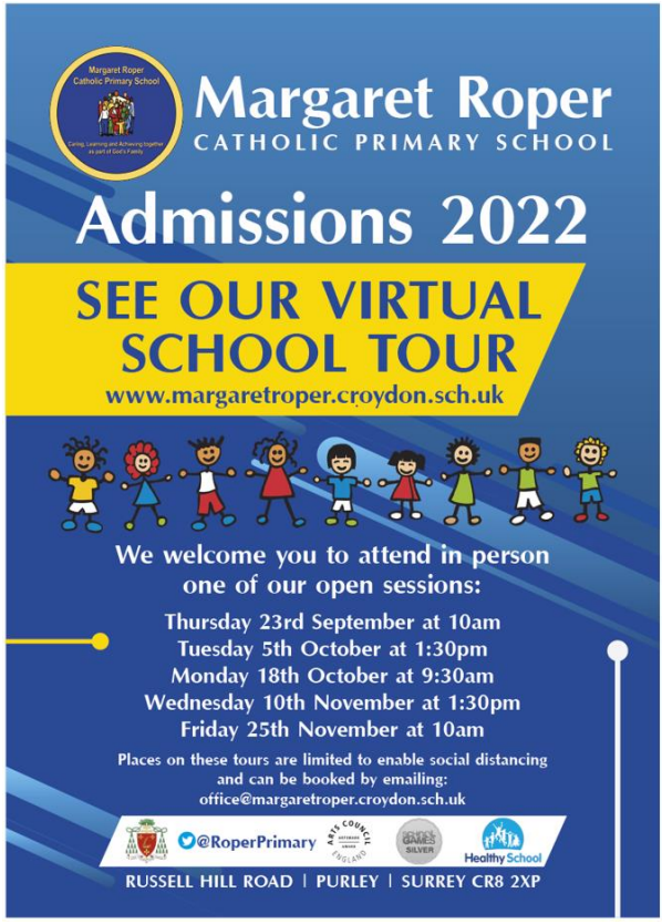 Admissions Flyer 2021